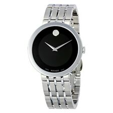 MINT Men's Movado ESPERANZA 0607057 Watch PushButtonDeployment