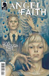 ANGEL & FAITH SEASON 9 #4 STEVE MORRIS VARIANT COVER DARK HORSE COMICS 2011