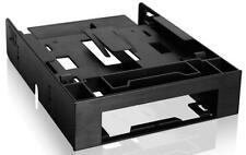 "Icy Dock FLEX-FIT Trio MB343SP 2x 2.5"" 1x 3.5"" HDD SSD Drive Bay Adapter Black"