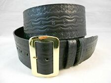 "Hilltop Leather Company Tooled Santa Claus Belt, Extra Large, Length 73"" –"