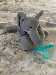Infant Baby Elephant Pacifier Wubbanub EUC