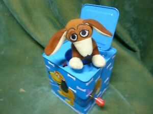 POOF-SLINKY DOG~MUSICAL POP-UP JACK IN THE BOX~WEINER DOG TOY STORY CHARACTER