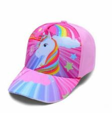 Cap For Kids Children 3-8 Years Girls Unicorn Baseball Cap Summer Sun Truck Hats