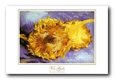 Vincent Van Gogh Sunflowers Floral Flower Wall Decor Art Print Poster (24x36)