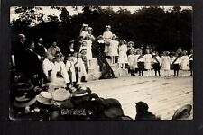 Meltham near Holmfirth - Garden Fete, Rose Queen - real photographic postcard
