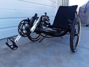 Ultimate BEST Folding Recumbent Trike Bike Bicycle 3 Wheels