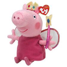 "Peppa principessa Beanie Peluche Giocattolo morbido, PEPPA PIG 7"" (18cm)"