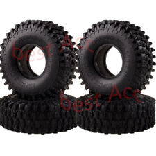 "4PCS 1.9"" Super Swamper Rocks Tyre 120mm Tire 7037 Climbing Rock Crawler 1:10 RC"