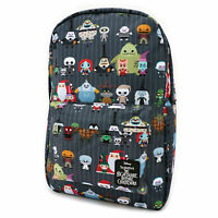 Loungefly Disney Nightmare Before Christmas Chibi Book Bag Backpack WDBK0502