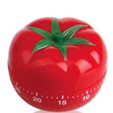 Tomato Shaped 60 Minutes Mechanical Timer Cooking Countdown Reminder Kitchen /AU