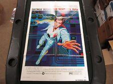 One Sheet Movie Poster The Terminal Man 1974 George Segal Joan Hackett