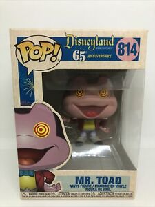 Funko POP! Mr. Toad Disneyland 65th Anniversary Vinyl Figure w/Protector