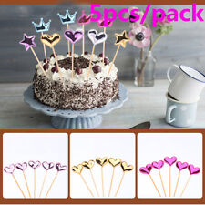 Symbol Of The Brand 2 Bags Basketball Shaped Cake Toothpick Birthday Cake Decor Inserted Card Insert Sign For Children About Bands Without Stones