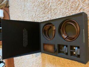 Berluti Native Union Leather Smart Charger and Adaptor Travel Set, NIB, $840