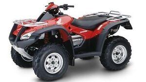 Honda TRX 650 FA Rincon ATV / QUAD Workshop Service and Repair Manual CD PDF