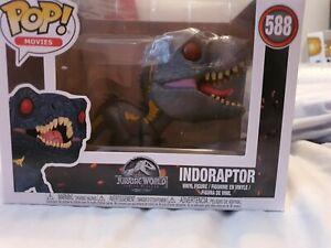 588 Funko Pop! Movies Jurassic World  Indorpator Vinyl Figure