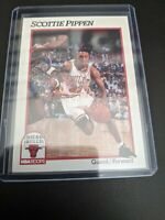 1991 NBA Hoops Scottie Pippen #34 Chicago Bulls The Last Dance Classic Card