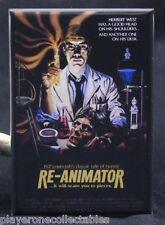 "Re-Animator Movie Poster 2"" X 3"" Fridge / Locker Magnet. Classic Horror"