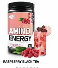 Optimum Nutrition Amino Energy Raspberry Black Tea 9.5 oz Bottles