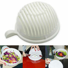 Salad Bowl Salad Cutter Slicer Bowl Fresh Salad Fruit Washer UK Seller Free P&P