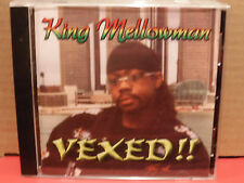 King Mellowman - Vexed!! CD Mint Condition RARE Reggae