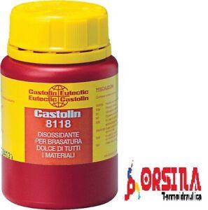 Castolin Disossidante per saldature DIS 8118 125gr per stagno-argento BC8118