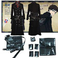 Ao no Blue Exorcist Yukio Okumura bag cosplay costume