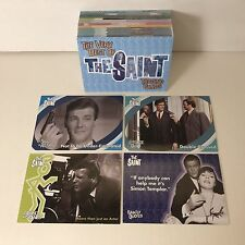 The Very Best of THE SAINT Complete Trading Card Set ROGER MOORE Simon Templar