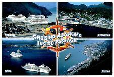 Cruising Alaska's Inside Passage Postcard New Skagway Sitka Ketchikan Juneau