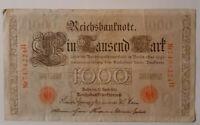 1000 Mark 'Deutsches Kaiserreich' von 1910 - **JOSTES**