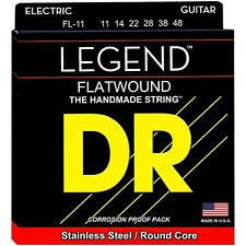 DR Strings FL-11 Legend Super Light Flatwound Electric Guitar Strings (11-48)