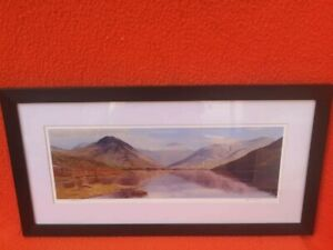 Water colour painting by Jeff Sudders at Lake district