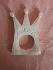 Crown Miroir Cadre Photo en Caoutchouc Latex Mould Mold Wall Decor Embellissement Plaque