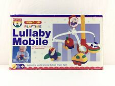 Lullaby Mobile Vehicles Boat PLAYTIME Baby Nursery Wind Up Musical FREE UK POST