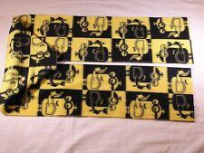 Minions Black and Yellow Fleece Scarf So Cute!