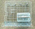 MAYTAG Quiet Series Dishwasher LOWER Bottom RACK W10120550 W10280784 w/ BASKET photo