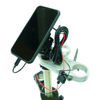 Alimenté Joug 50 Moto Écrous Support Avec Tigra Mountcase Pour Iphone 11 Pro