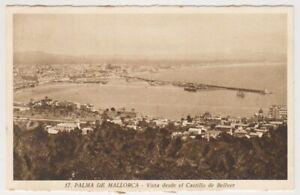 Spain postcard - Palma de Mallorca - Vista desde el Castillo de Bellver (A13)