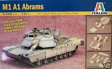 Italeri 1/35 M1 A1 Abrams Tank Super Detailed Resin 6438 New