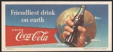 1956 COCA-COLA Unused Blotter