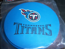 1 - 4 Pack Vinyl Drink Coasters - Tennessee Titans