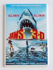 Jaws 3 FRIDGE MAGNET (2 x 3 inches) movie poster 3d great white shark