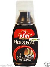 Kiwi Heel and Sole Edge black sole edger liquid gloss Color Renew 2.5 oz