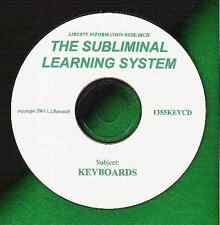 SUPERCHARGE YOUR PIANO or KEYBOARD LESSONS & PRACTICE WITH SUBLIMINAL LEARNING