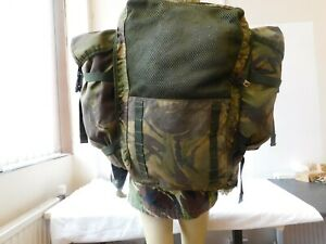 Ex Army Bergen Field BackPack DPM IRR 70 Litres, with Side Pockets [4PLA2]
