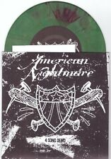 "American Nightmare ""4 Song Demo"" 7"" OOP Green Splat Give Up The Ghost Converge"