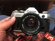 Canon AE-1 Camera With 50mm 1.8 Lens Plus more