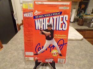 Cal Ripken Jr Baltimore Orioles 1995 Wheaties Box Consecutive Starts Streak
