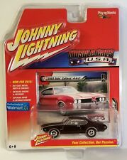 JOHNNY LIGHTNING 1969 OLDMOBILE CUTLASS 442 MUSCLE CARS USA CHASE WHITE INTERIOR