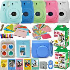 Fujifilm instax mini 9 Istantaneo Fotocamera + 40 Pellicola Fuji + Full